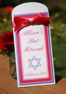 Jewish Lottery Favors - Ticket Holders 132-U