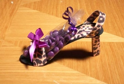 Leopard Stiletto Favor Boxes 162-Z