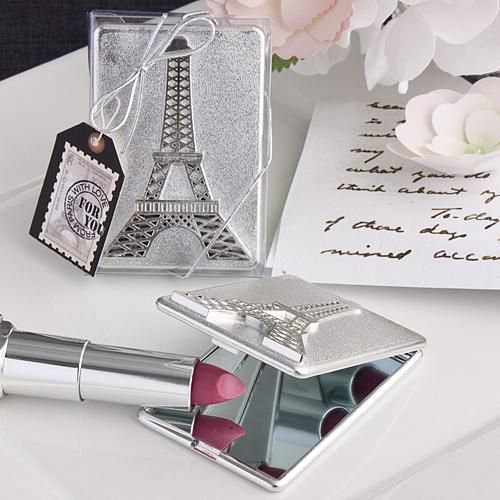 Eiffel Tower Design Mirror Compacts 129-PARIS