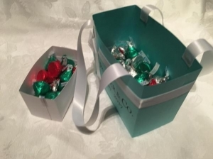 Tiffany Inspired Favor Bags
