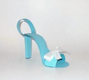 Tiffany Shoe Favors 125-BLUE