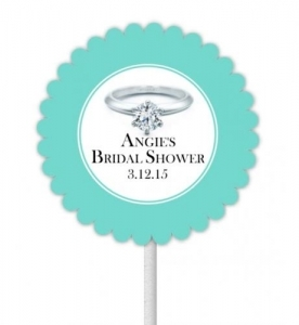 Something Blue Cupcake Toppers 133-SB