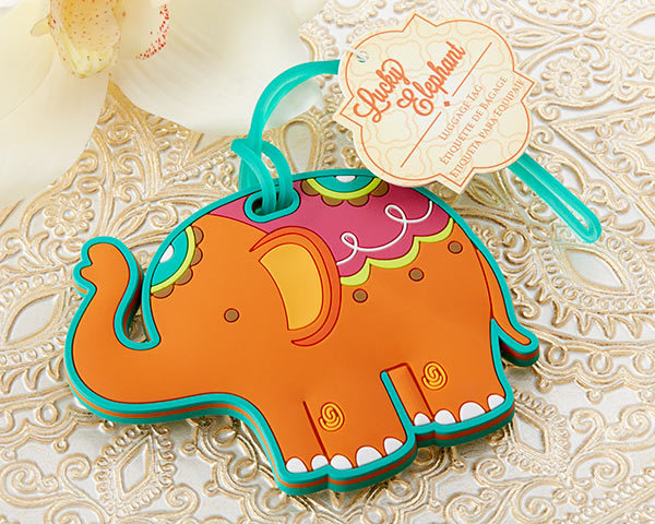 """""""Lucky Elephant"""" Luggage Tag 112-IF"""