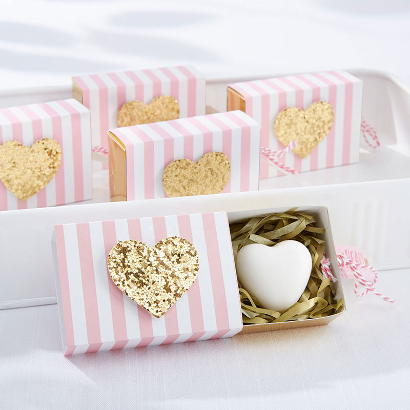 """""""Heart Of Gold"""" Scented Heart Soap 354-SOAP"""