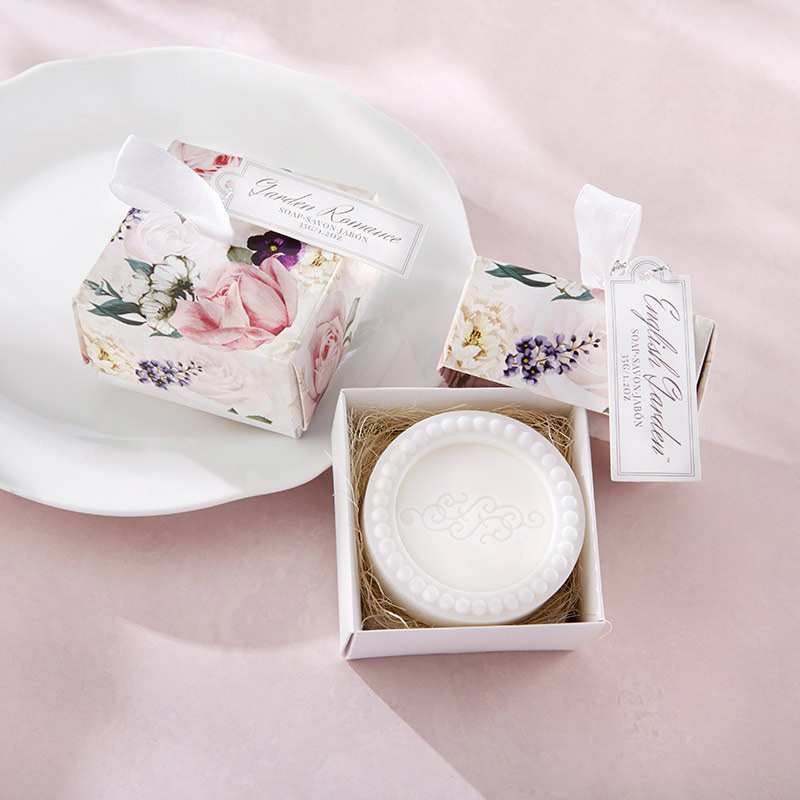 English Garden Soap In Floral Box 355-SOAP