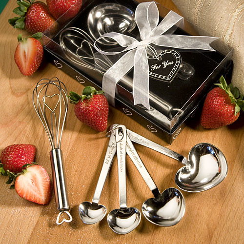 Measuring Spoon And Whisk Favor Sets 234-UNIQUE