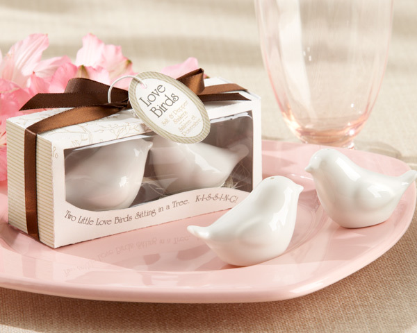 """""""Lovebirds in the Window"""" Ceramic Salt & Pepper Shakers 242-UNIQUE"""