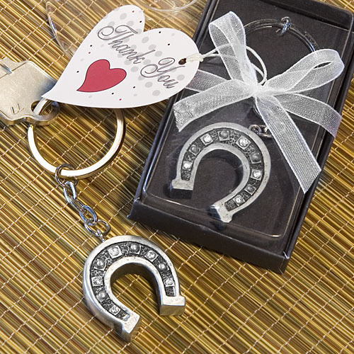Horseshoe Key Chain Favors 260-UNIQUE