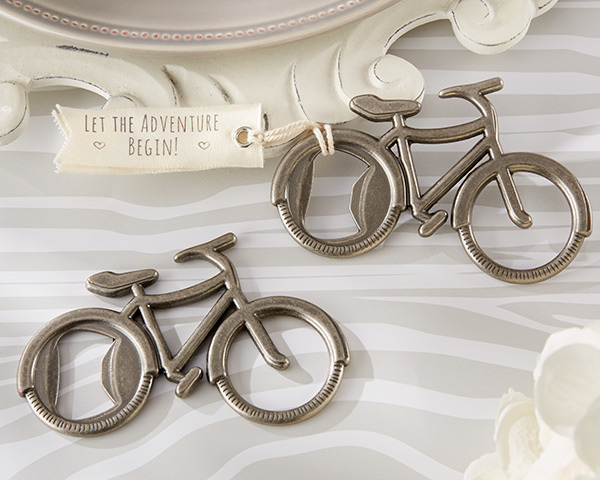 """Let's Go On an Adventure"" Bicycle Bottle Opener 243-WINE"