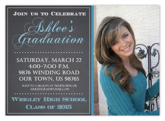 Photo Graduation Invitation 101-GradInvite