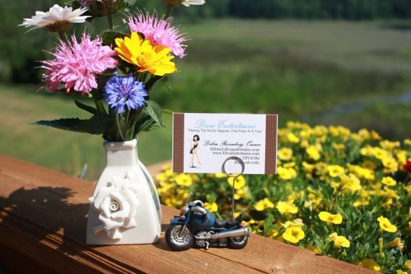 Motorcycle Place Card Holder 672-PCH