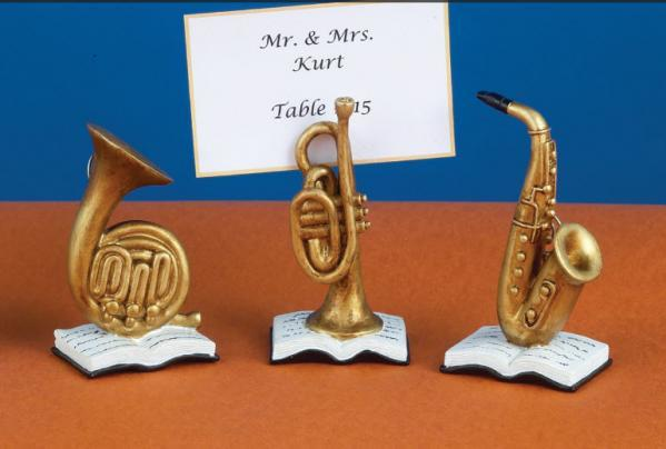 Jazz Instruments Place Card Holders 758-PCH