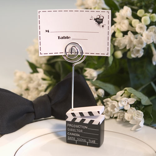 Clapboard Style Place card Holder 654-PCH