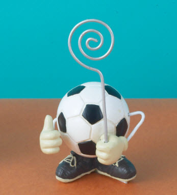 Soccer Place Card Holder/Picture Holder 759-PCH