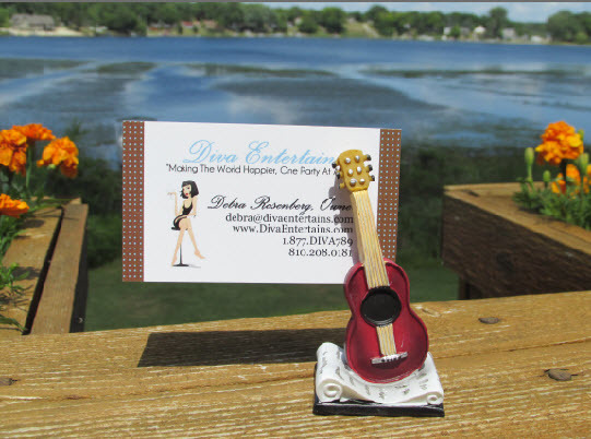 Acoustic Guitar Place Card Holder 756-PCH