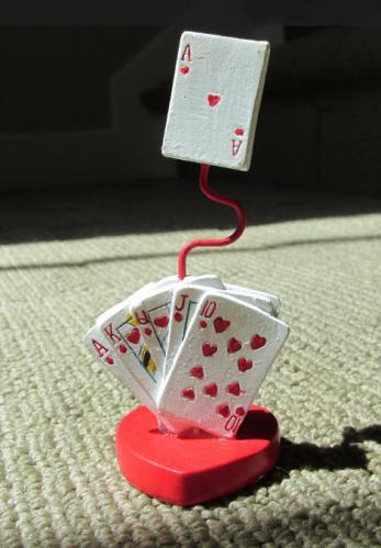 Winning Hand Playing Card Place Card Holders 755-PCH
