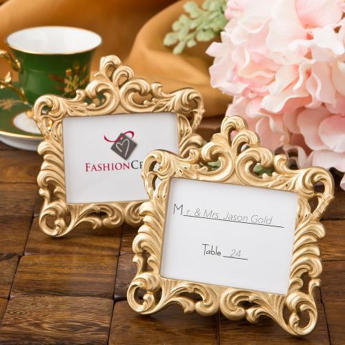 Gold Baroque Style Frame Favor 118-FRAMEFAVOR