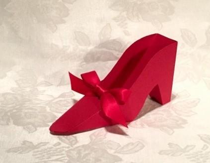 Fabulous High Heel Pump Favor Boxes - Many Colors! 217-SHOE