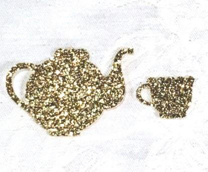 Tea Themed Confetti Decorations (200 Pieces) 133-DecorEssentials