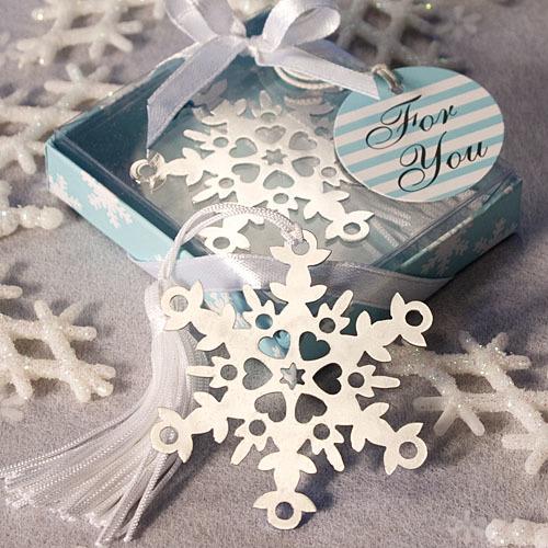 Snowflake Bookmark Favors 294-UNIQUE