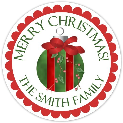 Lovely Christmas Ornament Stickers 317-sticker