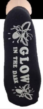 Glow in the Dark Grippy Socks 145-J