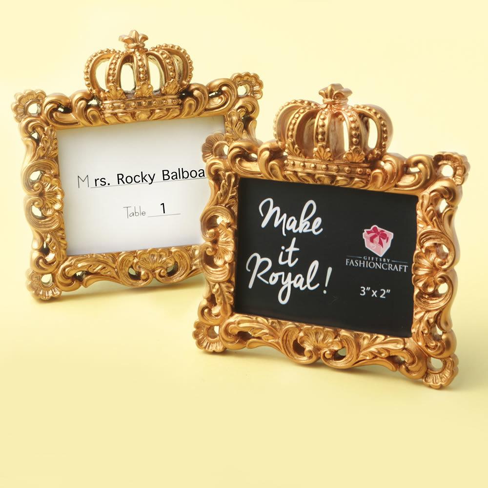 Make it Royal Gold Baroque Frame 725-PCH