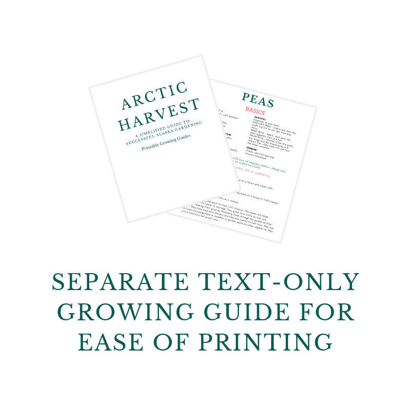Arctic Harvest - A Simplified Guide to Successful Alaska Gardening
