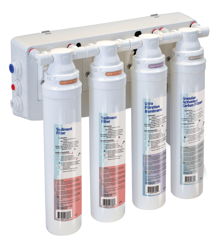 Aqua Flo Platinum Quick Change Ultra Filtration System