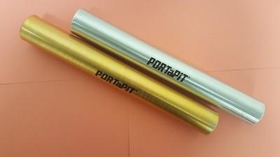 Baton, track, light-weight aluminum
