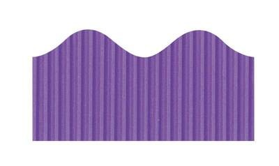 Bordette, Violet, Pre-Scalloped border 2 1/4