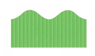 Bordette, Nile Green, Pre-Scalloped border 2 1/4