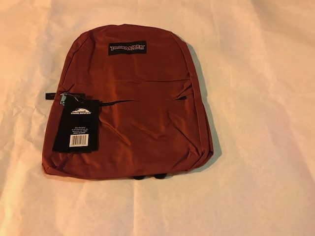 "Backpack, Mid/Hi size, 17"" 24/cs, assorted colors1 case = 24 each"