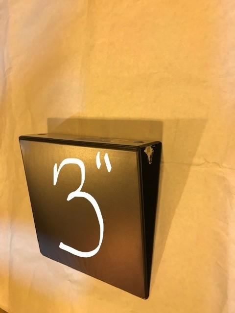 "Binder, 3 Ring , 8-1/2"" x 11"", 3"" capacity, Black vinyl,"