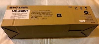 TONER, BLACK, SHARP COPIER MX-M850/950/1100 SERIES COPIERS #MX850NT