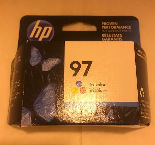 Cartridge, Ink, Color HP #97