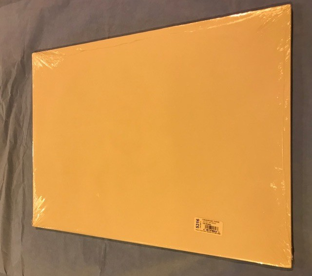 "Paper, Finger Paint, 16""x22"", 60# Both sides glazed, 100 sheets/package"