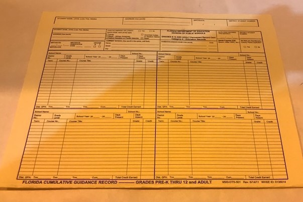 Cumulative Folder GR K-12 50/Pack