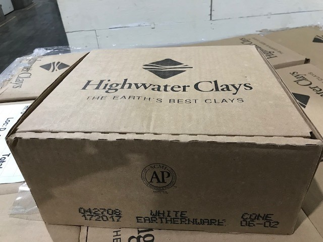 White Clay, Firing, Moist, 50lb/bx