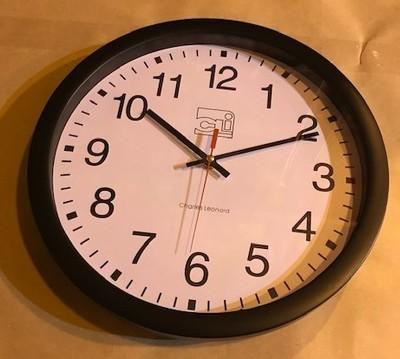 Clock, Wall, Battery, 14