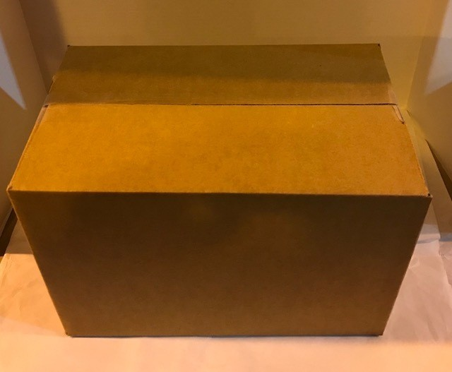 Box, moving/storage, small size, 14 x 9 x 9