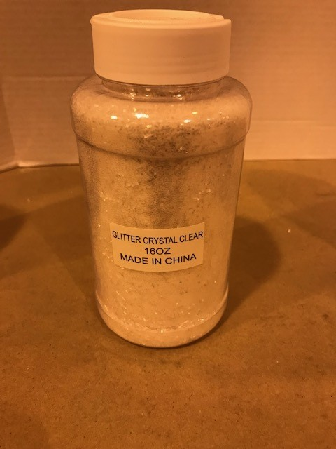 Glitter, Diamond Dust, Extra Fine, 1lb/btl
