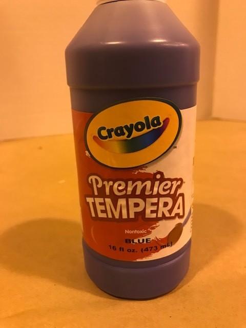 Paint, Tempera, Blue, liquid, squeeze bottle
