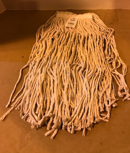"""MOP, HEAD WET 24 OZ 18"""" STRANDS, USE WITH HANDLE #0305047"""