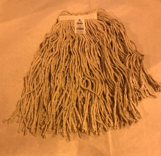 "MOP, HEAD, WET 20 OZ. 18"" STRANDS USE WITH HANDLE #0305044"