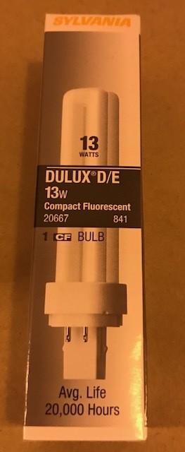 BULB, FLUOR 13W CF13DD SYL 20667