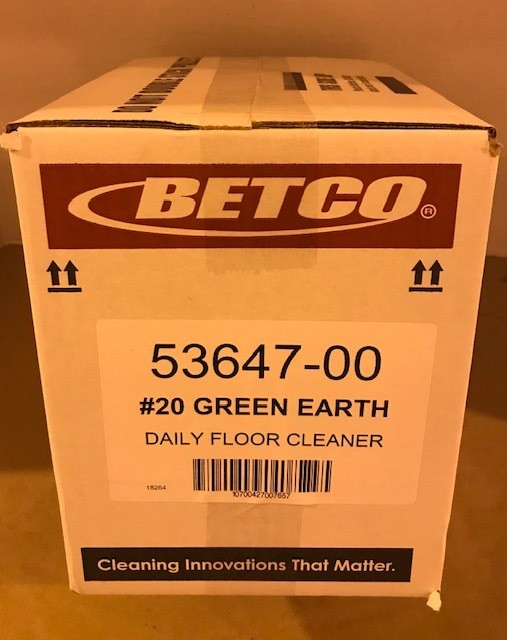 Cleaner, Floor, GREEN EARTH CONC. BETCO #20
