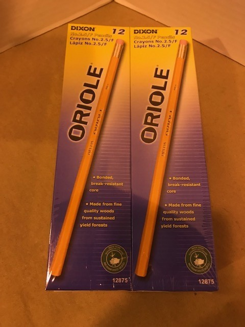 Pencils, #2-1/2 Lead
