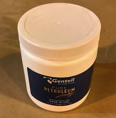 Petroleum Jelly, White, 13 oz. Jar