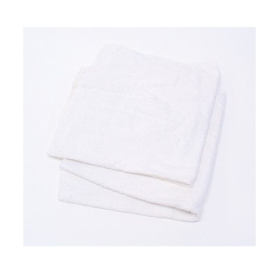RAG,TERRY TOWEL MATERIAL, WHITE COTT0N BLENDS, 10 LB/CASE